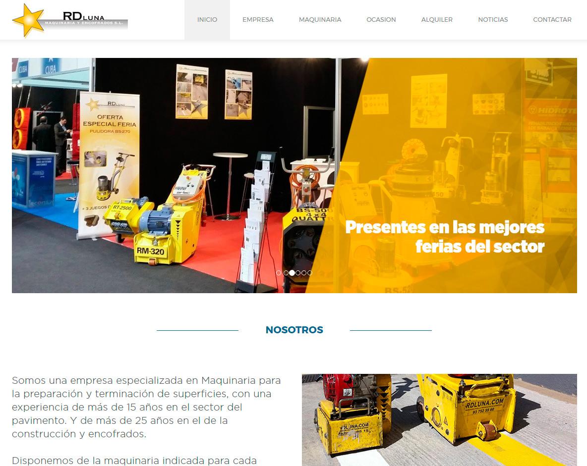 2017 - ESTRENAMOS WEB EN RD LUNA
