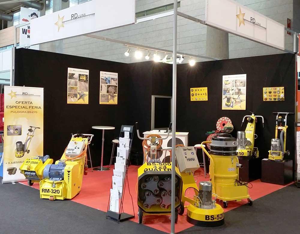Participación de RD Luna en Construmat 2015