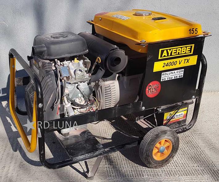 Generador de Corriente 24 KVA